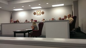 Decatur County Commissioners at their April 22, 2014 meeting