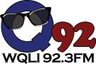 WQLI - Q 92.3 FM Logo