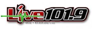 WBGE - Live 101.9 FM Logo