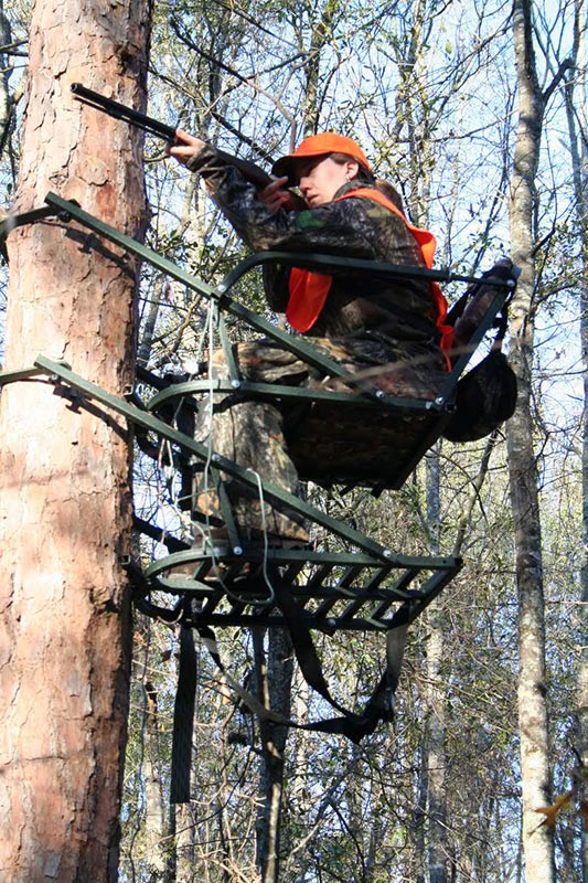 Safe use of tree stands means a better hunting experience for Climbing tree stand plans