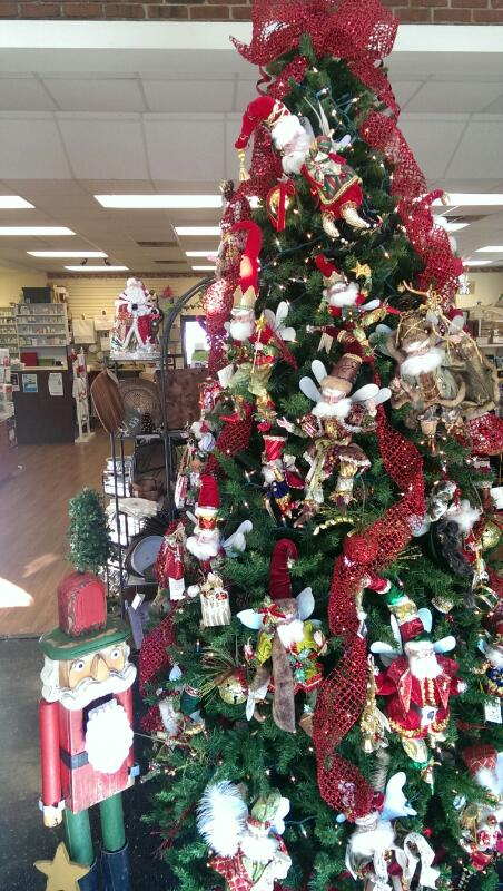 Christmas ornaments on sale at Bainbridge Pharmacy this weekend