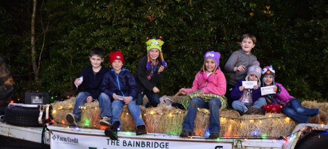 Bainbridge Farmer's Market Christmas Parade float