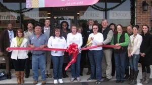 Ribbon cutting for HAS A Home, a home decor store in Bainbridge, GA