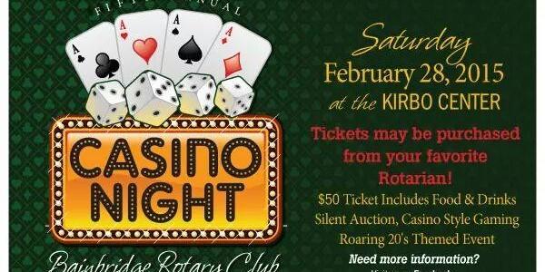 Bainbridge Rotary Club Casino Night 2015