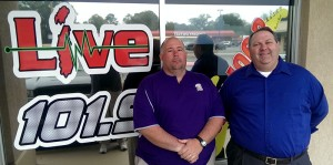 Bainbridge High School head baseball coach Brian McCorkle and Flint Media sports announcer Keith Lyle recently visited the Jesus and Jammin' Morning Show to talk about the Bainbridge Bearcats' upcoming baseball season.