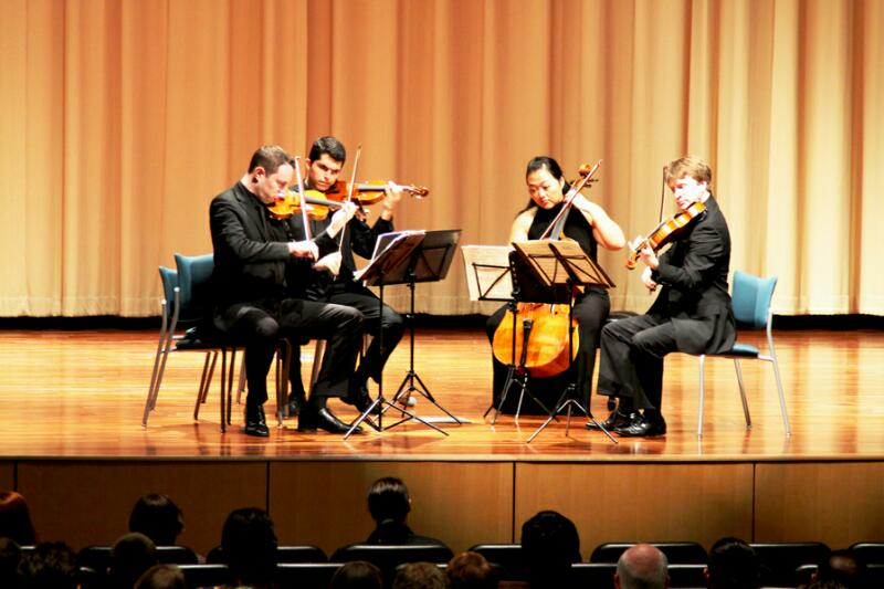 Calidore String Quartet brings music education to life at