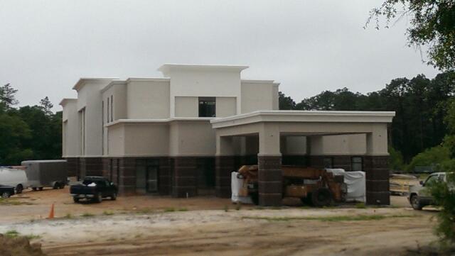 bainbridge s hampton inn about 80 percent constructed. Black Bedroom Furniture Sets. Home Design Ideas