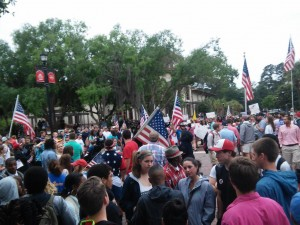 VSU_flag_rally