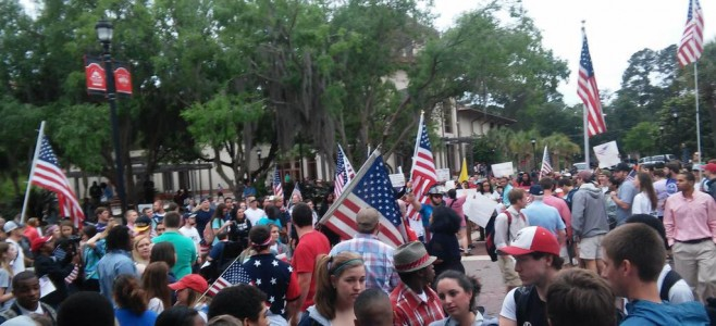 VSU_flag_rally