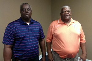 Decatur County Prison Warden Elijah McCoy and Decatur County Commissioner George Anderson. Anderson retired from the Decatur County Prison before running for office and had risen to the rank of captain during a 20-year career.