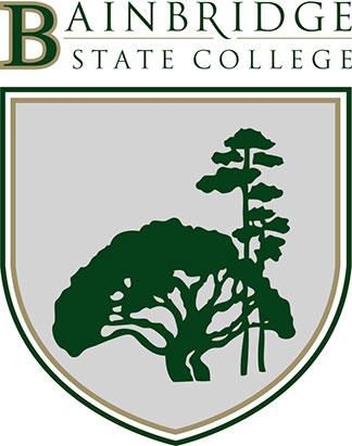 Bainbridge State College Vertical logo