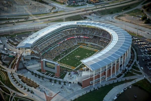 McLane Stadium - Capacity: 45,140