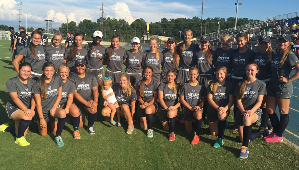 The 2015 Thomas County Central Lady Yellow Jackets softball team.