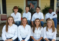 Pelham High School FFA Officers