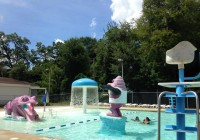 One of the pools at the Bainbridge Aquatic Center