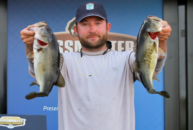 Travis Kelehan of Broussard, La., won the co-angler division at the Bassmaster Open on Lake Seminole.