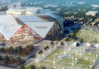 Mercedez Benz Stadium Render Art