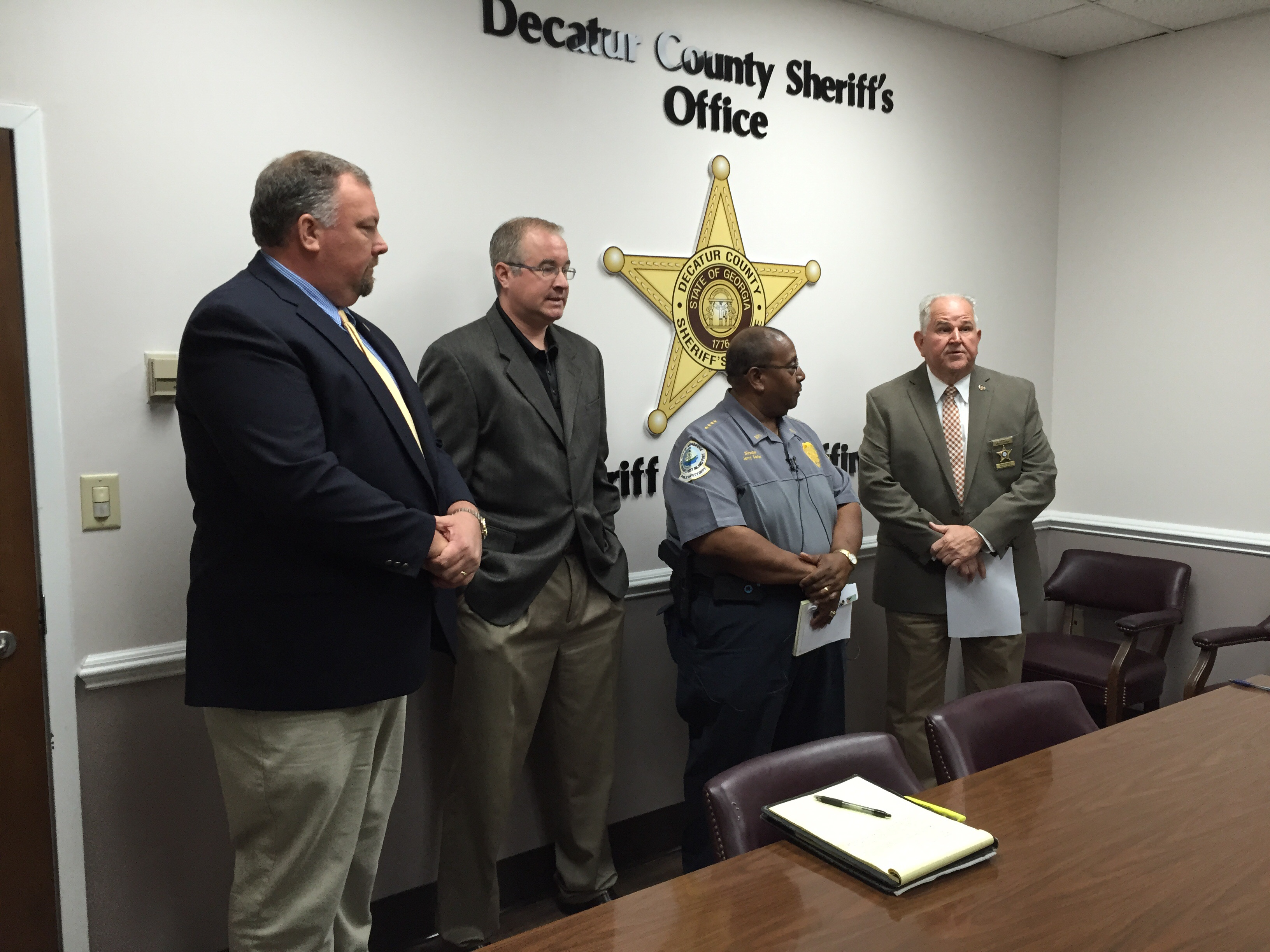 UPDATED 10:38 a m  DCSO, BPS, and GBI Press Conference on