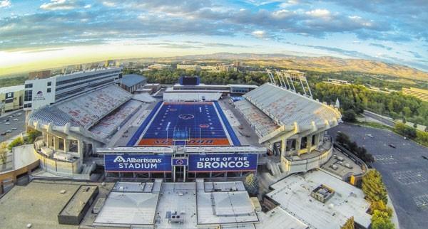 Albertson's Stadium - 1970 - 36,387