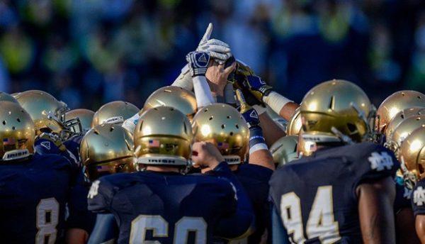 Notre Dame - Blue Uniforms 2