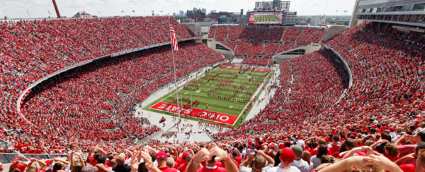 Ohio Stadium 'The Horseshoe' - 1922 - 104,944