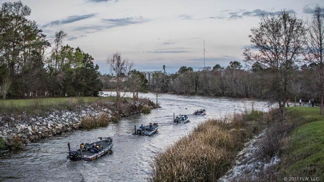 Costa flw fishing tour comes to bainbridge on march 1 for Lake seminole fishing