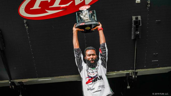 FISHING: FLW Tour Pro Brian Latimer Wins at Lake Seminole